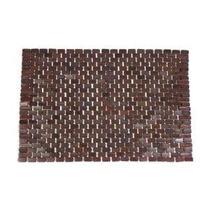 Bambusová rohožka 50x70 cm, choco