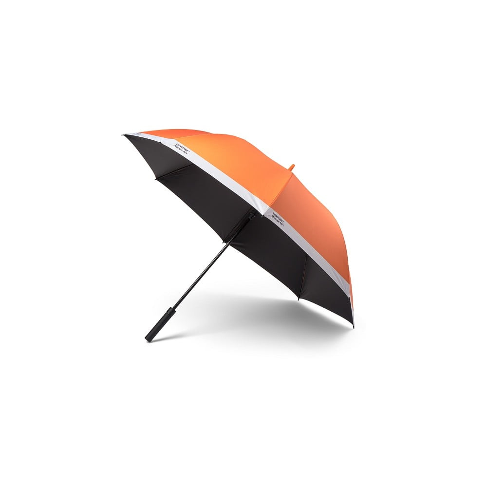 Oranžový holový deštník Pantone