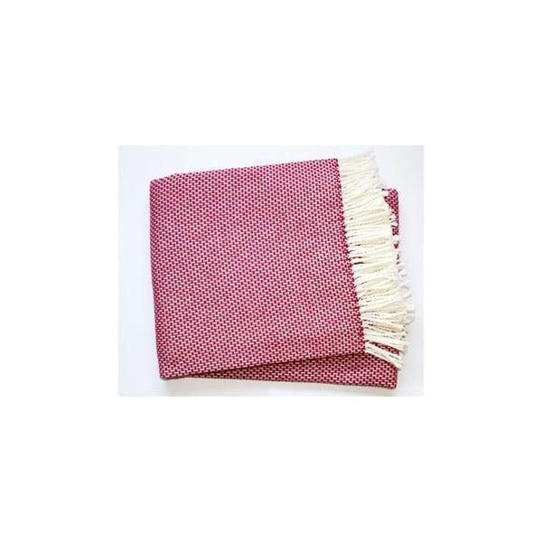 Růžová deka Euromant Zen, 140x180cm