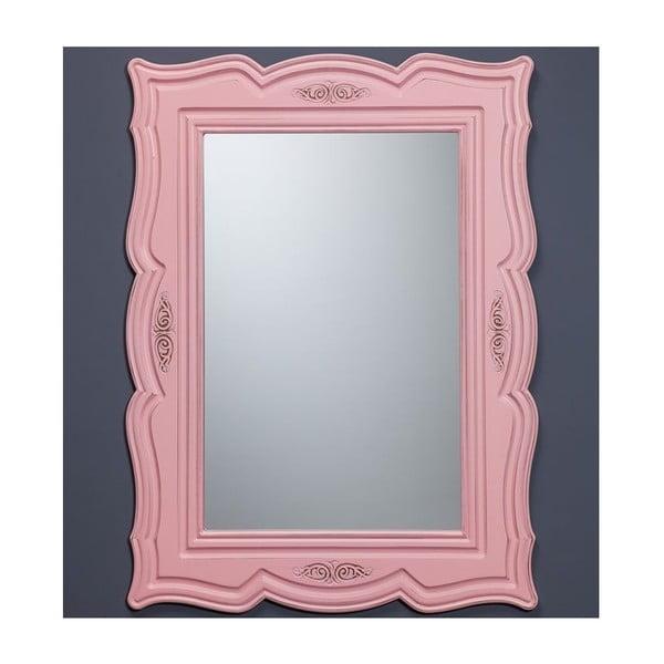 Nástěnné zrcadlo Country Pink