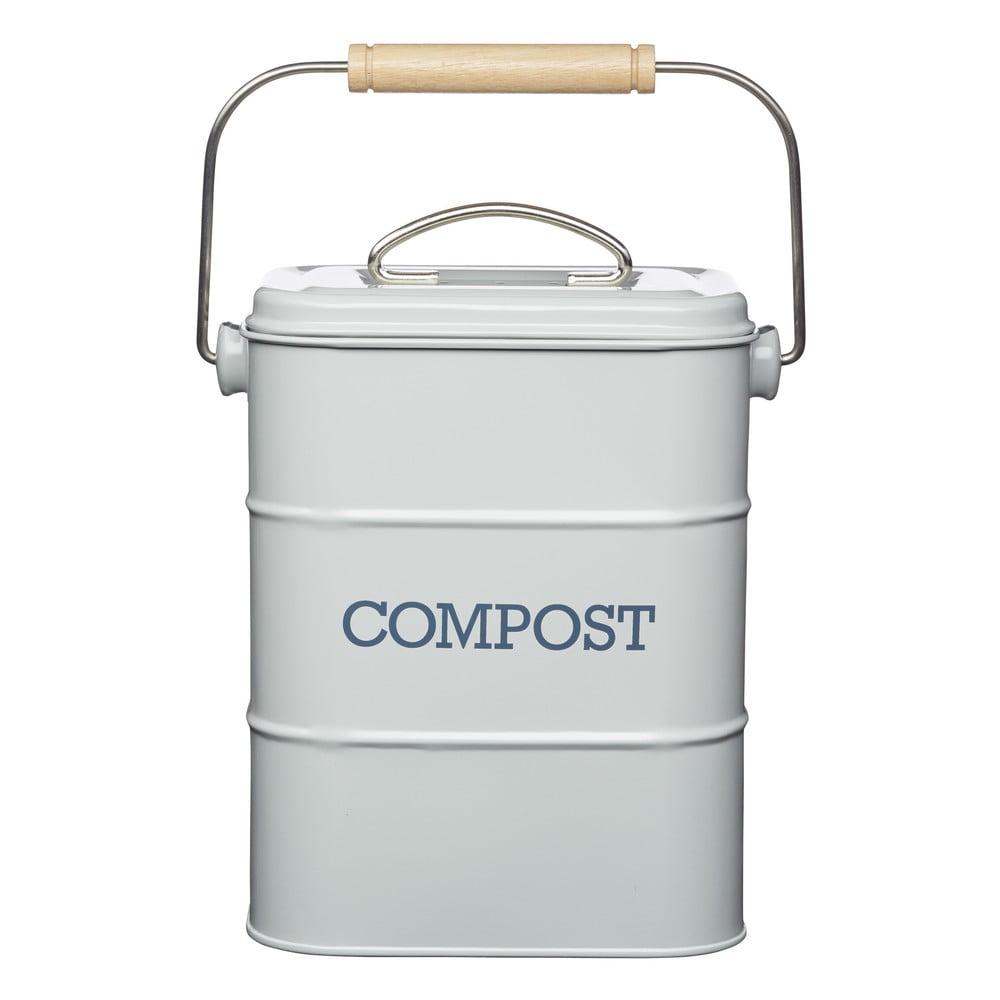Domácí kompostér Kitchen Craft Living Nostalgia, šedý