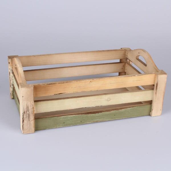 Dřevěná přepravka Claire
