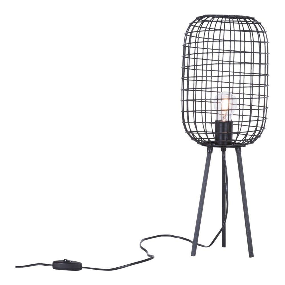 Fotografie Ručně vyrobená stolní lampa Canett Oscar, ⌀19cm