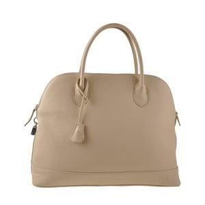 Béžová kožená kabelka Ore Diece Bree