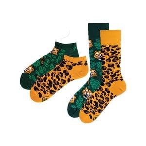 Sada 2 párů klasických a kotníkových ponožek Many Mornings El Leopardo, vel. 43-46