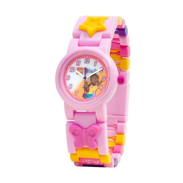 Różowy zegarek ze składanym paskiem LEGO® Andrea