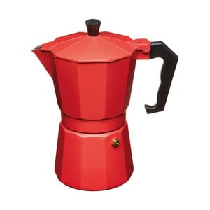 Moka konvička Kitchen Craft Le'Xpress Red, na 6 šálků