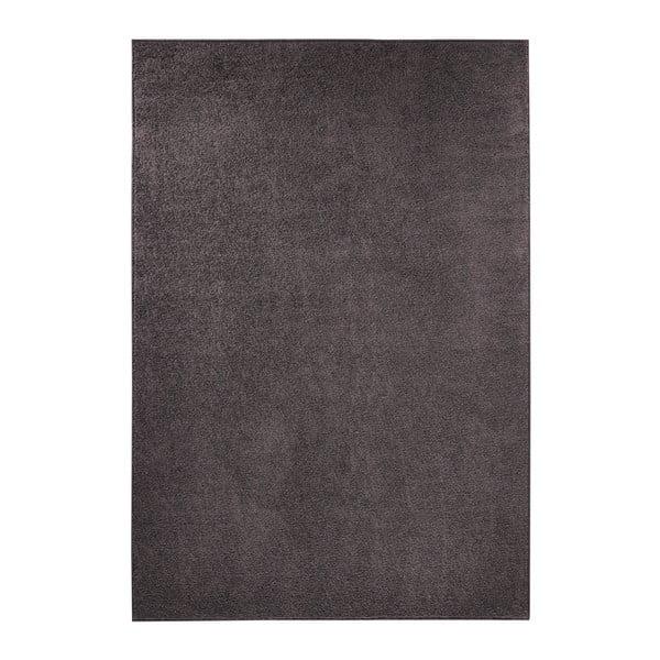 Antracitově šedý koberec Hanse Home Pure, 140x200cm