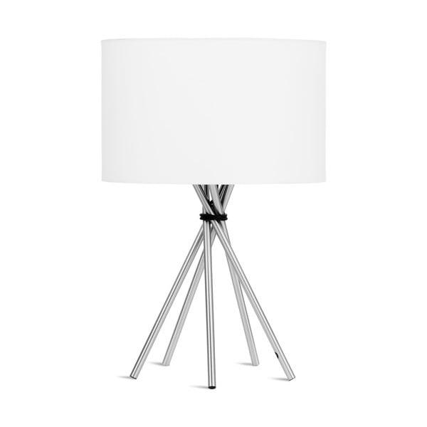 Bílá stolní lampa Citylights Lima