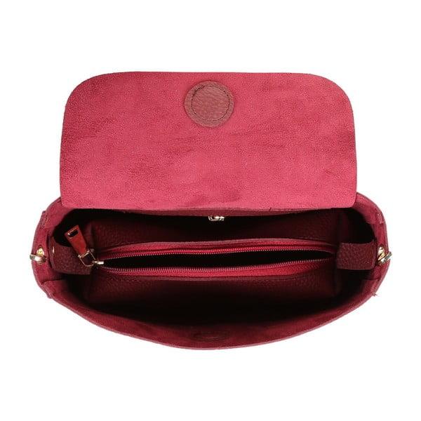 Tmavě červená kabelka Beverly Hills Polo Club Georgina