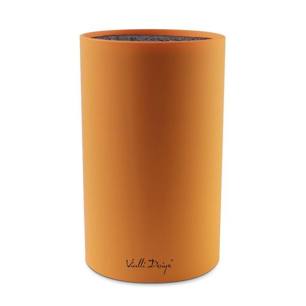 Blok na nože, oranžový