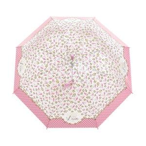 Deštník Windproof Pink Flowers