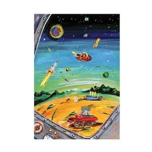 Plakát Mon Petit Art Dans l'Espace, 85x58cm