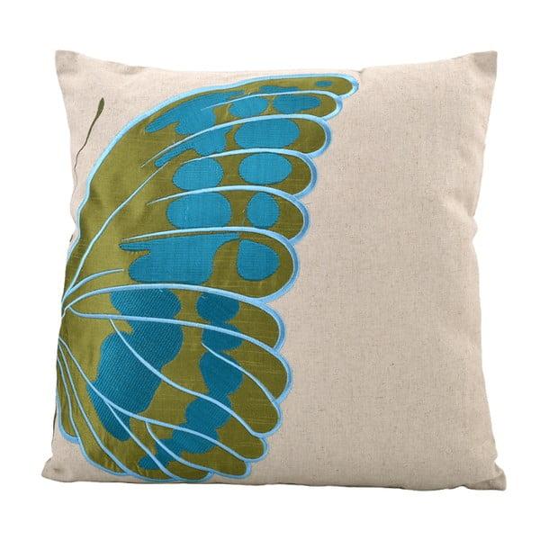 Polštář Butterfly Left, 45x45 cm