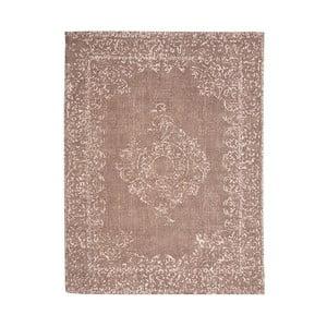 Hnědý bavlněný koberec LABEL51 Vintage, 160x140cm