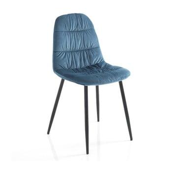 Set 4 scaune Tomasucci Fluffy, albastru de la Tomasucci
