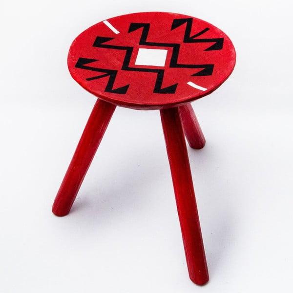 Sada 2 ručně malovaných stoliček Voila