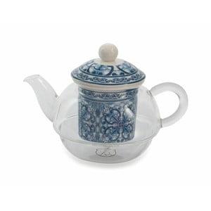 Ceainic cu strecurătoare din porțelan Villa d'Este Marocco