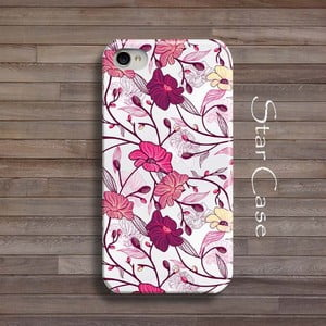 Obal na iPhone 4/4S Pink Floral