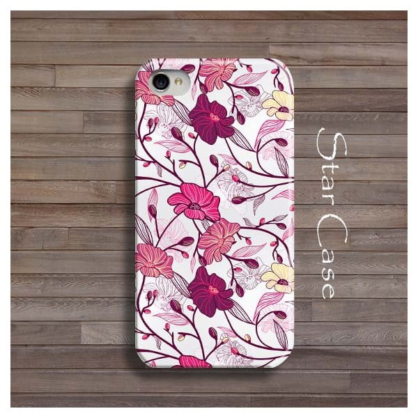 Obal na iPhone 5/5S Pink Floral