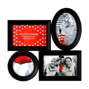Sada čtyř rámečků Photo, černá