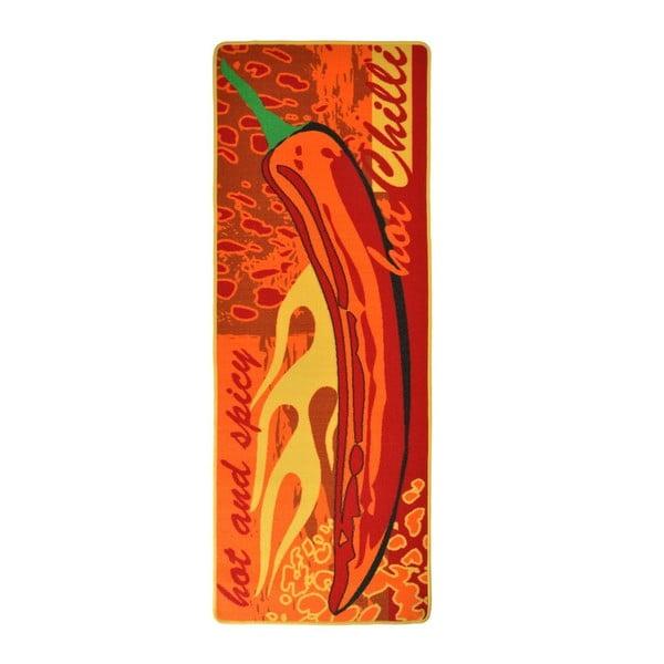 Kuchynský behúň Hanse Home Hot Chilli, 67×180cm