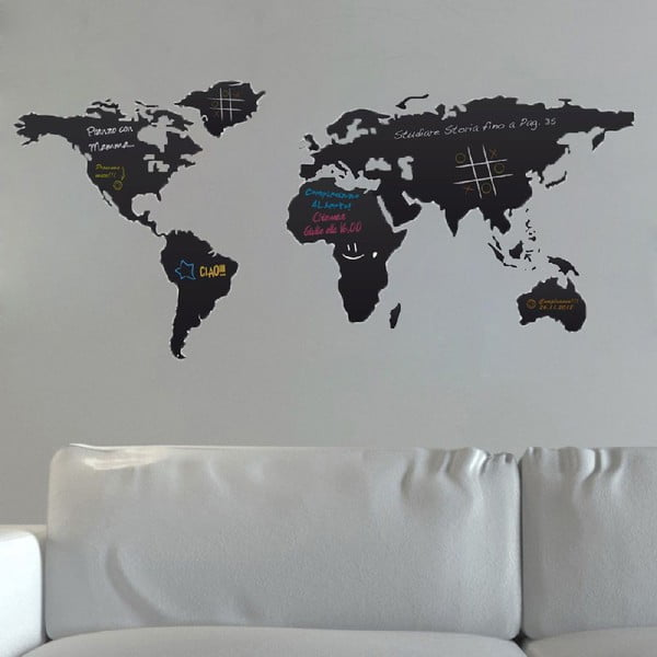 Tablă autocolantă de perete World