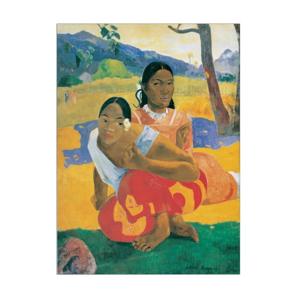Obraz  Gauguin - Will You Marry Me?, 73x100 cm