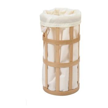 Coș de rufe Wireworks Cage, alb cu sac alb imagine