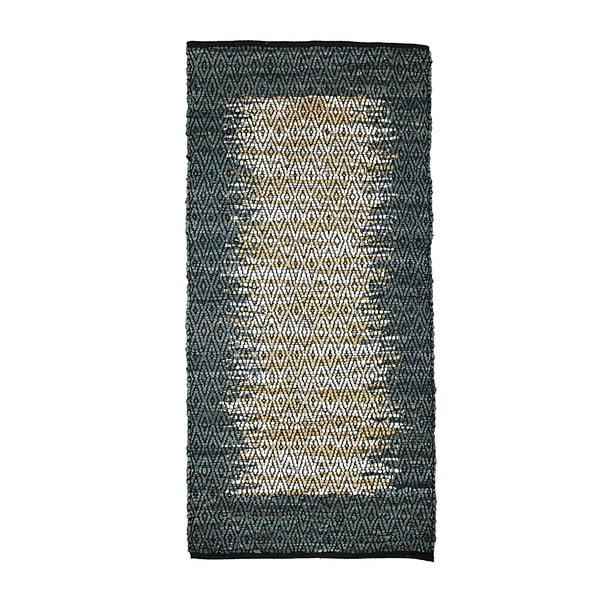 Kožený koberec Simla Natural, 140x70cm