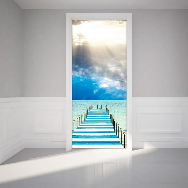 Autocolant adeziv pentru ușă Ambiance Seabridge
