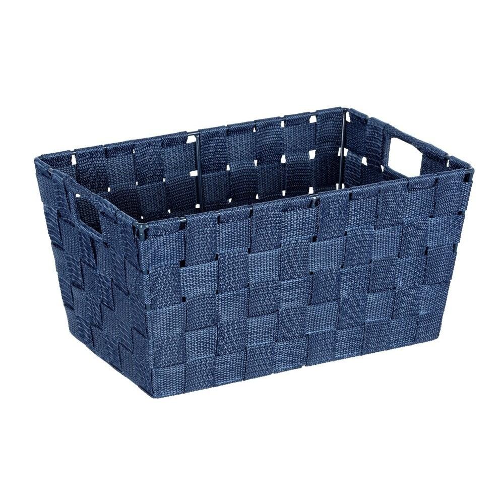 Produktové foto Tmavě modrý košík Wenko Adria, 20x30cm