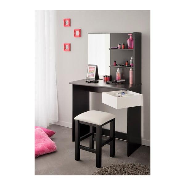 Černobílá stolička Parisot Orléans