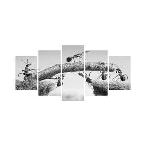 Vícedílný obraz Black&White no. 5, 100x50 cm