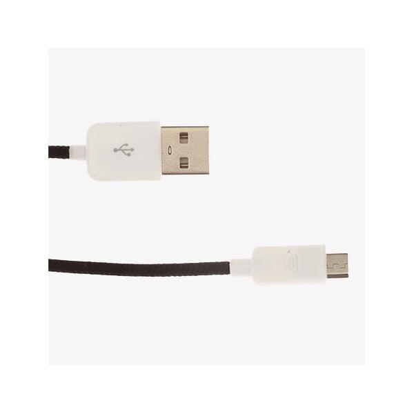 Micro-USB kabel, černý