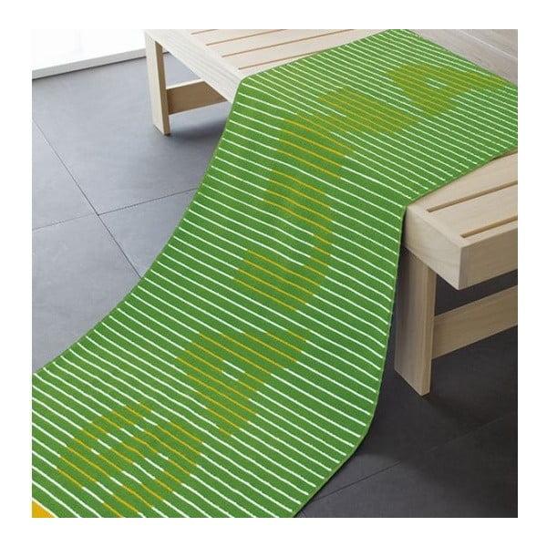 Ručník Sauna Green, 180x70 cm