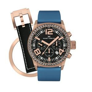 Dámské hodinky Marc Coblen s páskem a kroužkem navíc P23