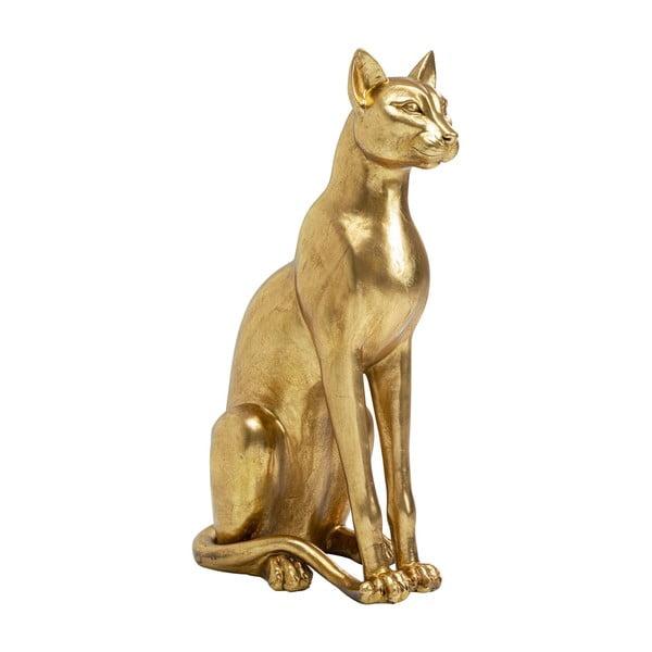 Statuetă decorativă Kare Design, înălțime 74 cm, auriu