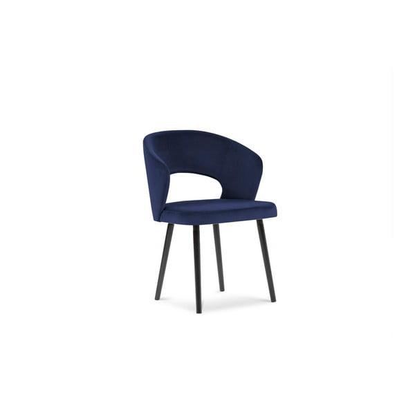 Královsky modrá jídelní židle se sametovým potahem Windsor & Co Sofas Elpis