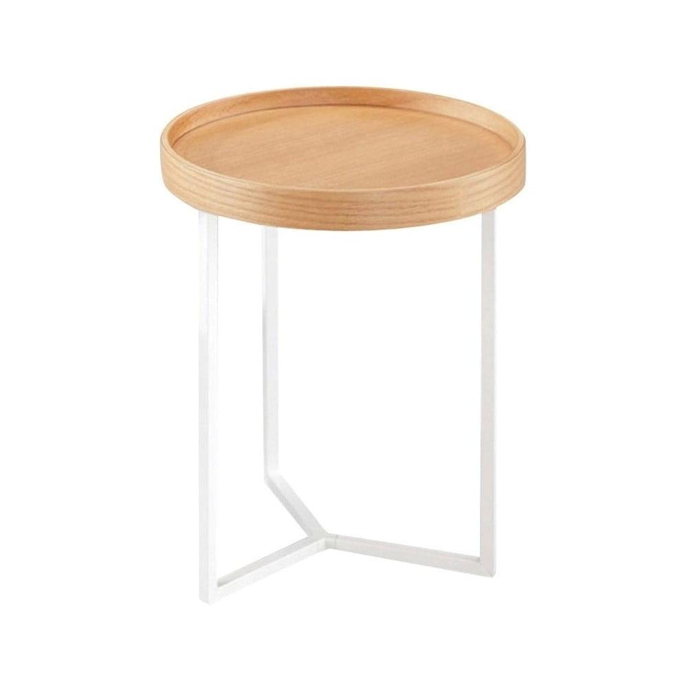 Produktové foto Hnědý odkládací stolek Design Twist Tallin