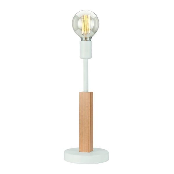 Bílá stolní lampa Lamkur Orazio