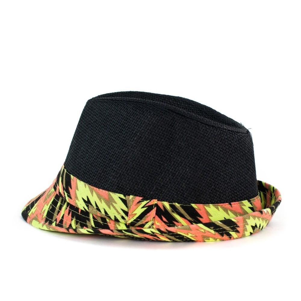 Černý klobouk Art of Polo Koluna