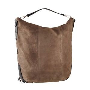 Hnědá kožená kabelka Ore Diece Maryland