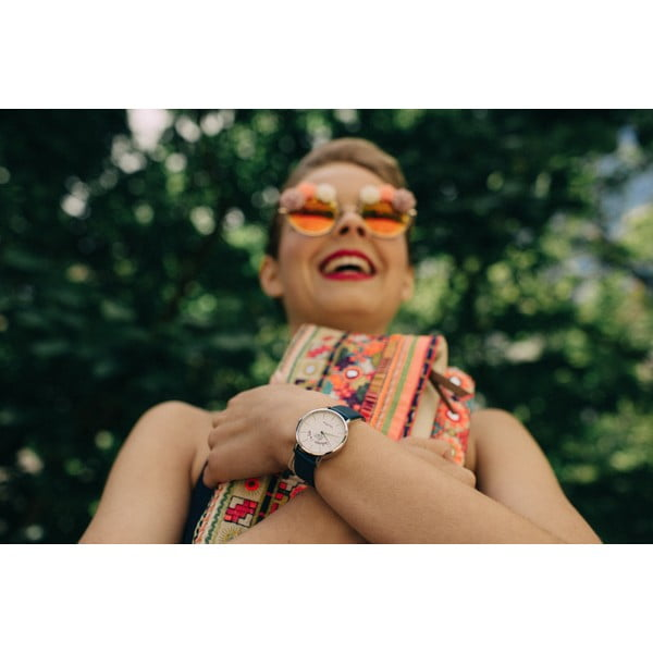 Hodinky VeryMojo Glamour Time, oranžové