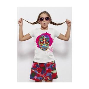 Dětské tričko s krátkým rukávem KlokArt Lebka, pro 12-14 let
