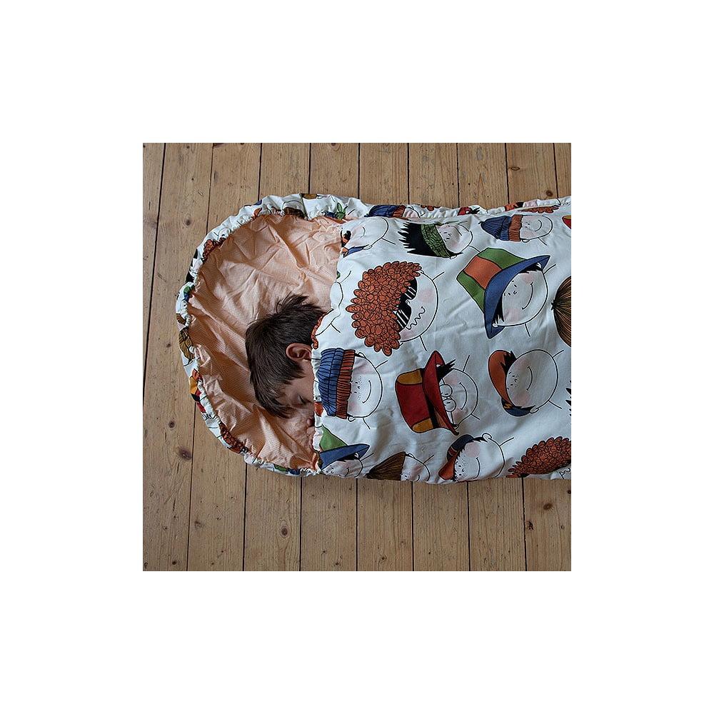Dětský spací pytel Bartex Veselé obličeje, 70 x 200 cm