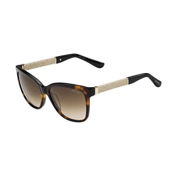 Sluneční brýle Jimmy Choo Cora Leopard Glitter/Brown