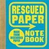 Zápisník Chronicle Books Rescued Paper Notebook, malý