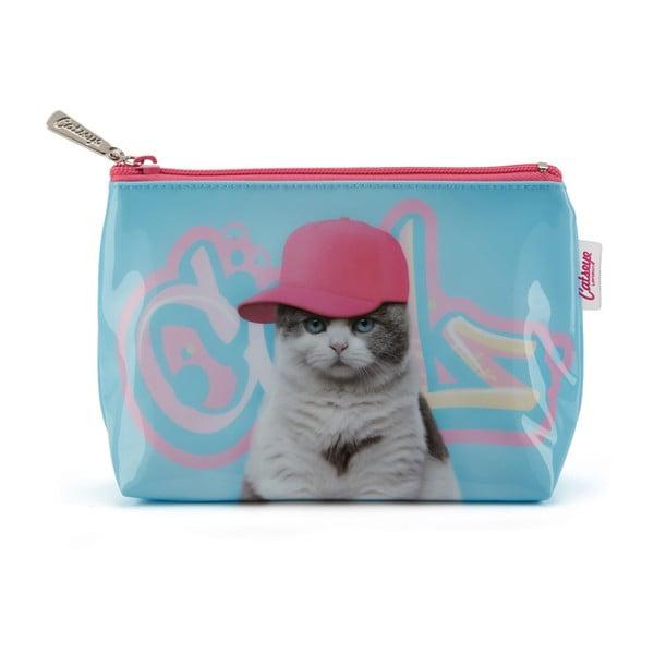 Malá taštička Catseye London Graffiti Cat