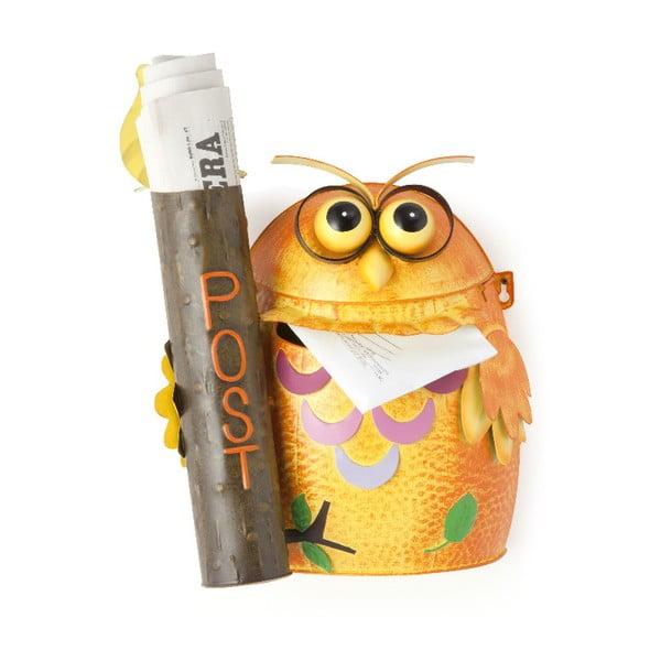 Owl narancssárga levélszekrény - Brandani